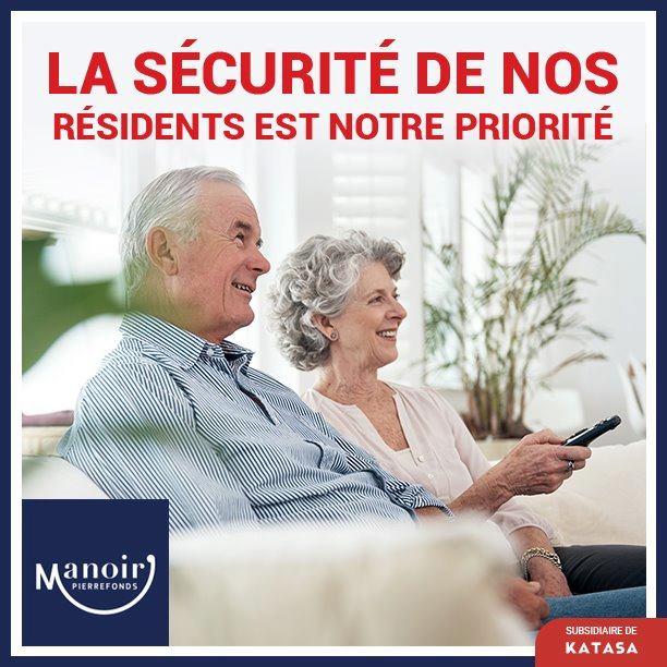 la sécurité de nos résidents
