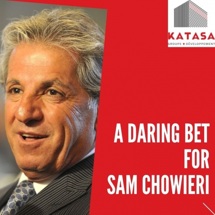 a daring bet for Sam Chowieri